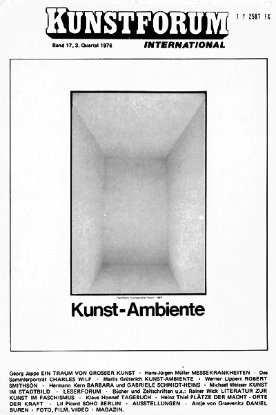 KUNSTFORUM International - Band 17