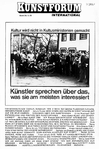 KUNSTFORUM International - Band 29