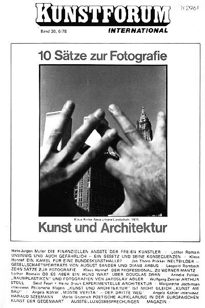 KUNSTFORUM International - Band 30